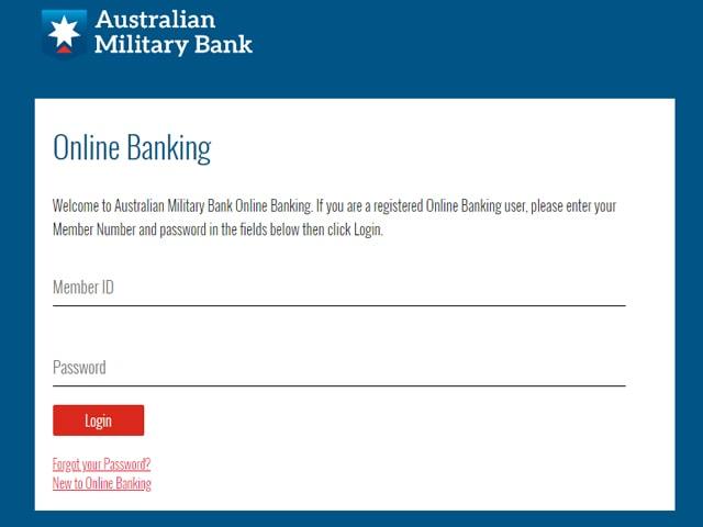 Australian Military Bank Online Banking