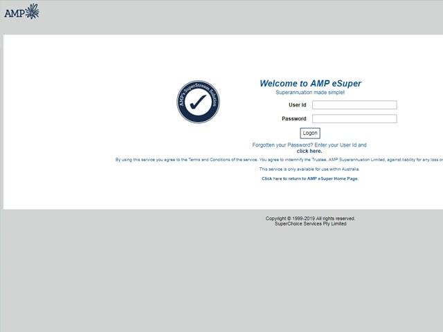 AMP Internet Banking