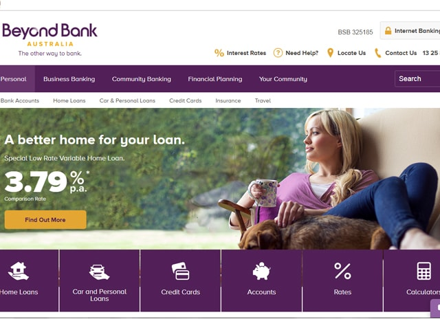 Beyond Bank Internet Banking