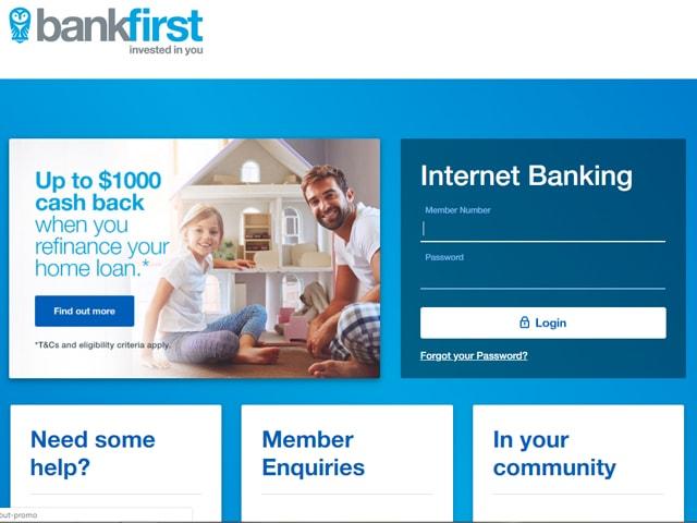 Bankfirst Internet Banking