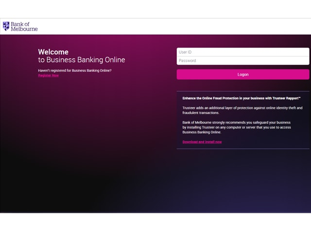 Bank of Melbourne Online Banking
