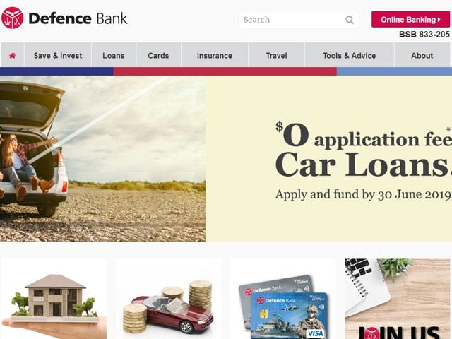 Defence Bank Internet Banking