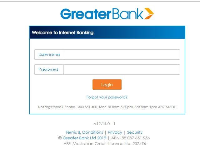 Greater Bank Online Banking