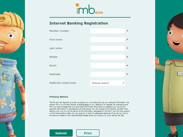 IMB Online Banking