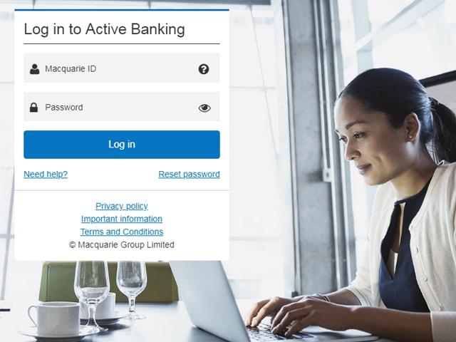 Macquarie internet Banking