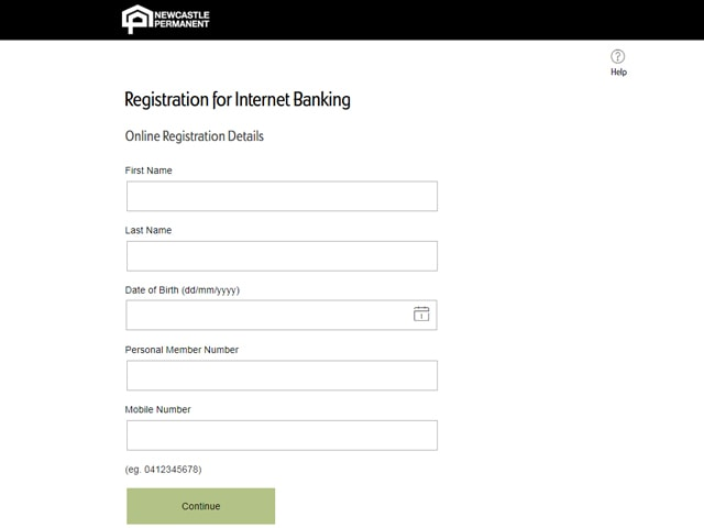 Newcastle Permanent Online Banking