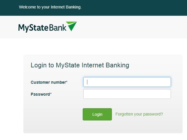 MyState NetBank