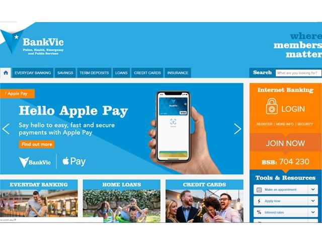 BankVic Internet Banking