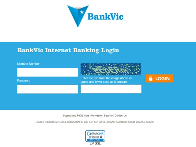 BankVic Login