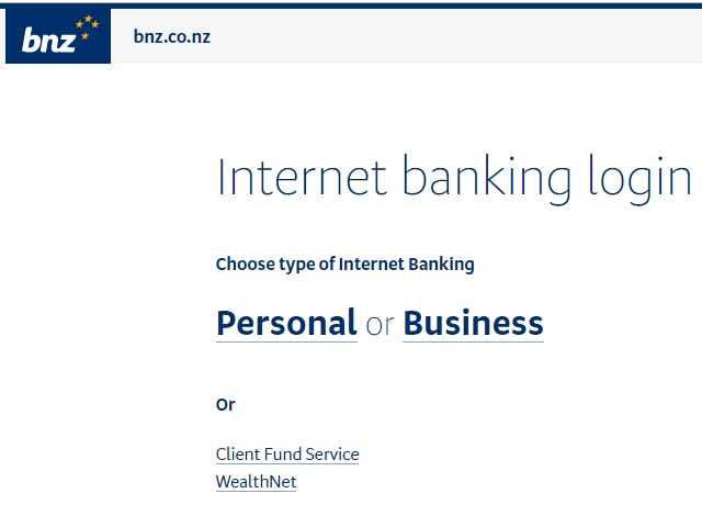 BNZ Business Login