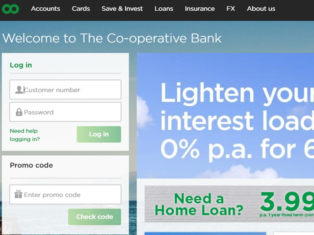 Cooperative online Banking
