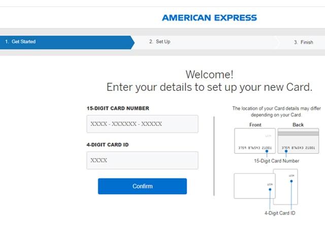 American Express Login