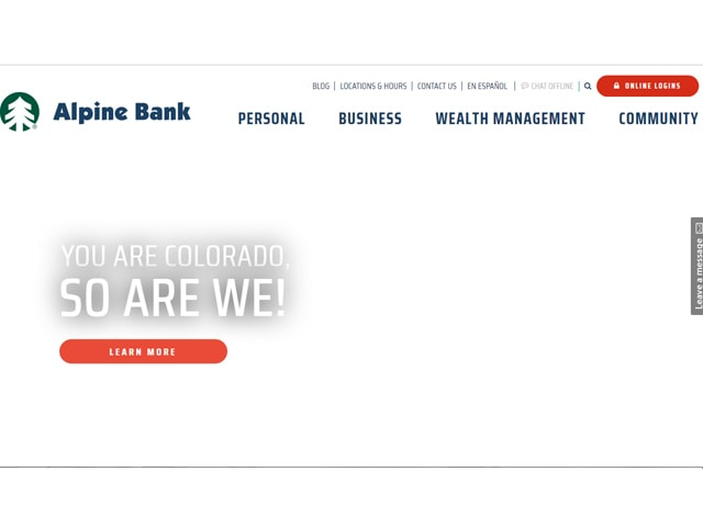 Alpine Bank Login