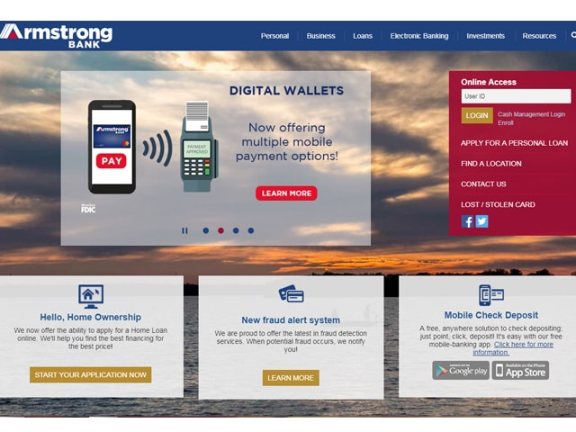 Armstrong Bank Login