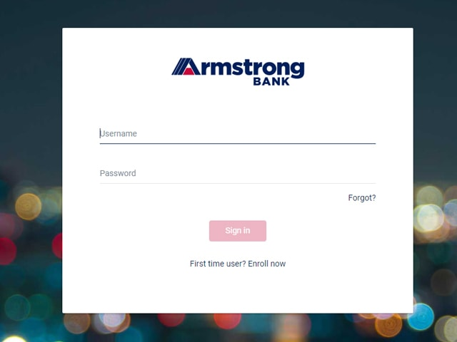 Armstrong Online Banking