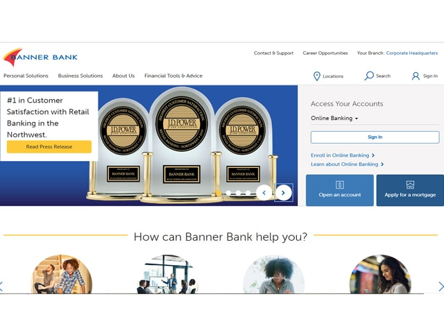 banner bank online banking