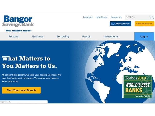 Bangor Savings Bank Login