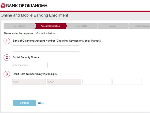 bank of oklahoma personal banking