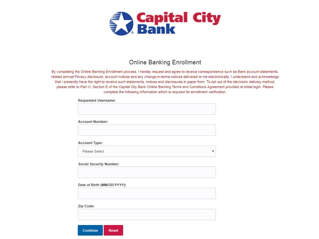 Capital Bank Online Banking