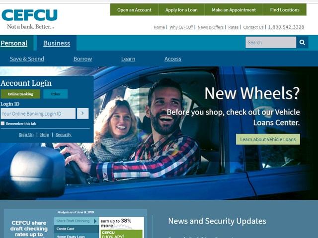 CEFCU Online Banking