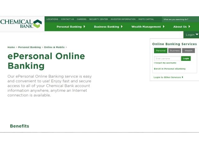 Chemical Bank E Banking