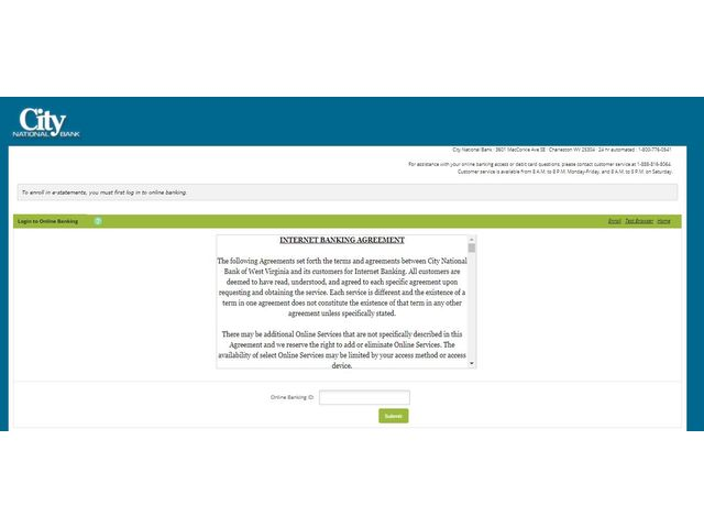 Bankatcity Online Banking
