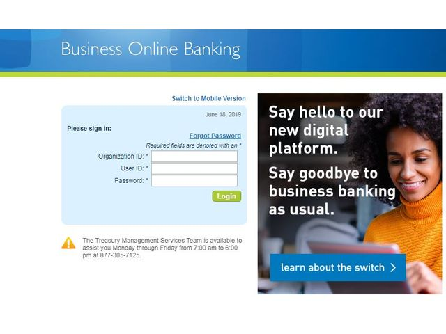 Columbia Bank Online Login