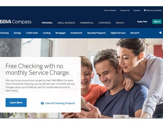 Compass Bank Login