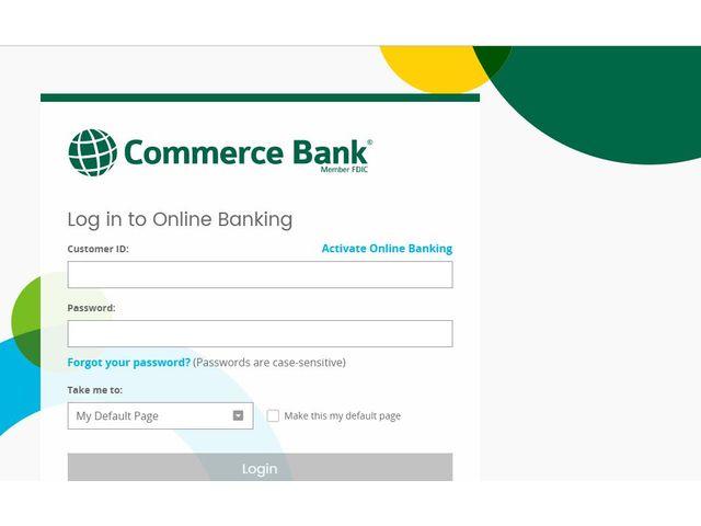 Commerce Bank Login