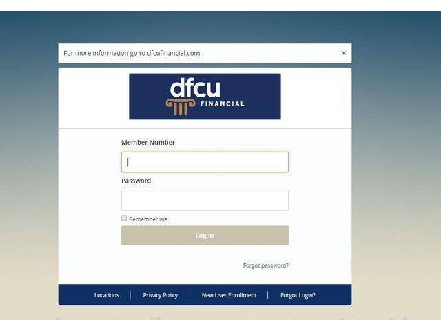 DFCU Financial Online Banking