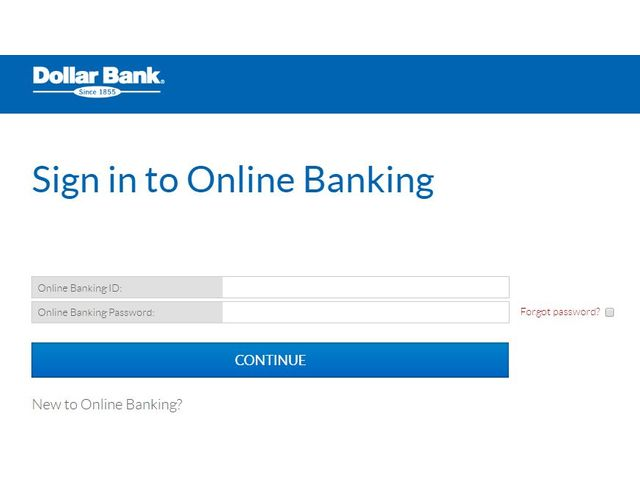 Dollar Bank Login
