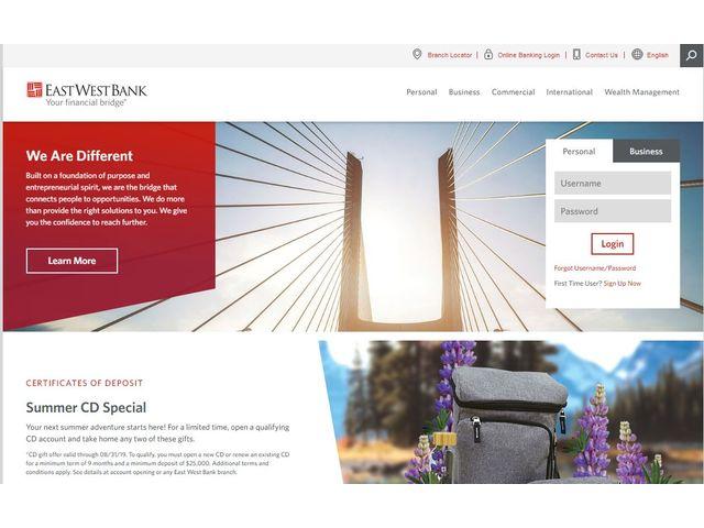 EastWest Online Banking