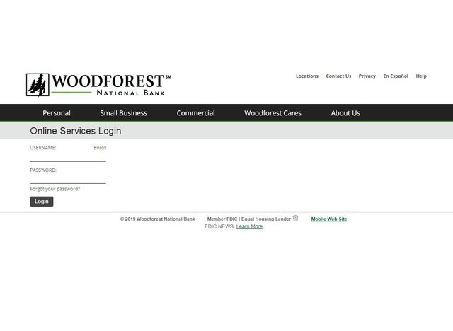 Woodforest National Bank Online Banking