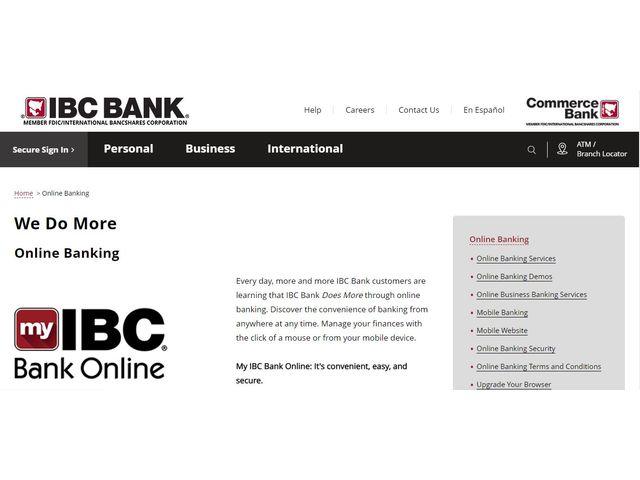 IBC Bank Online Banking