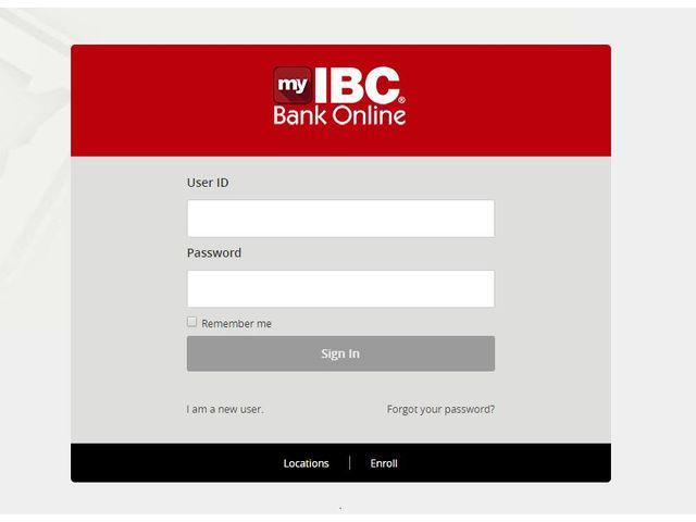 IBC Online Login