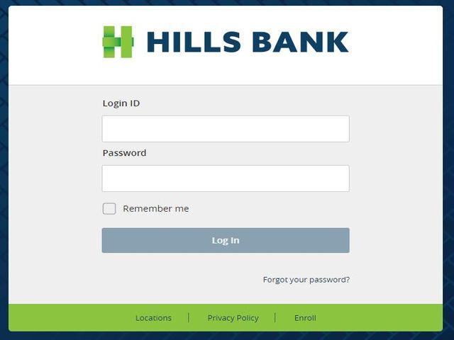 Hills Bank Login