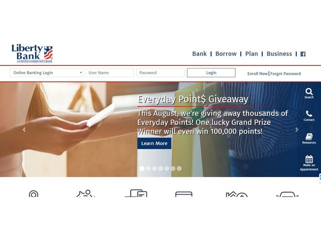 Liberty Bank Online Banking