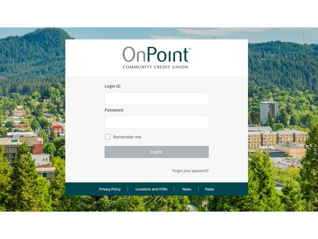 OnPoint Credit Union Online Banking
