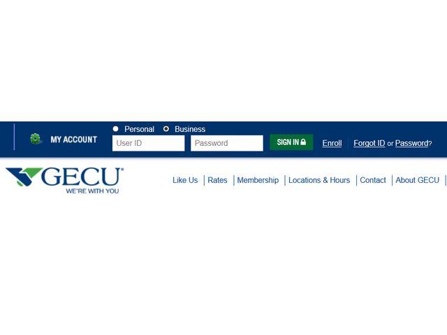 gecu online banking login