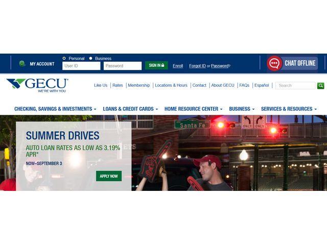 gecu online banking