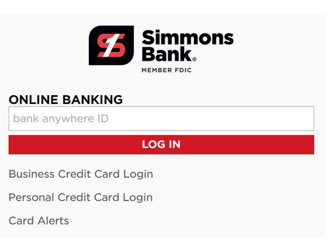 Simmons Bank Login