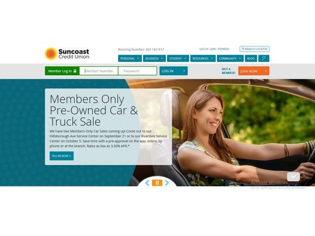 sunnet online banking