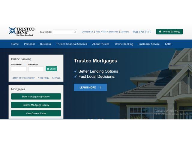 trustco bank online banking