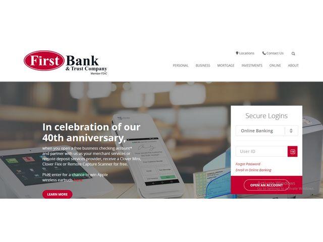 first trust online banking