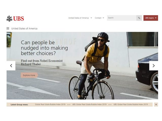 UBS Online Banking