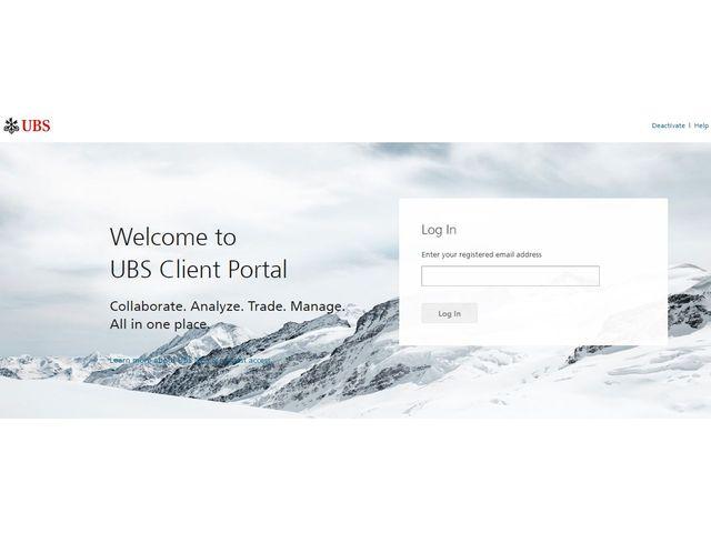 UBS Internet Banking