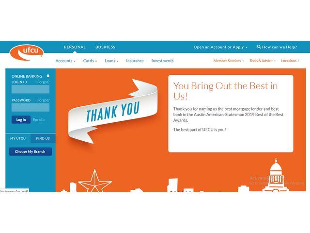 ufcu online banking