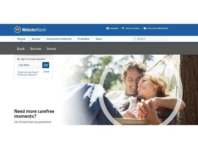 Webster Bank Online Banking