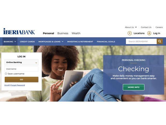 IberiaBank Online Banking