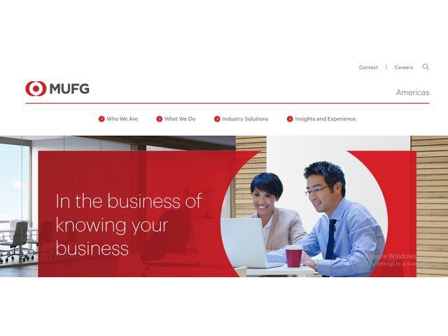 mufg union bank online banking